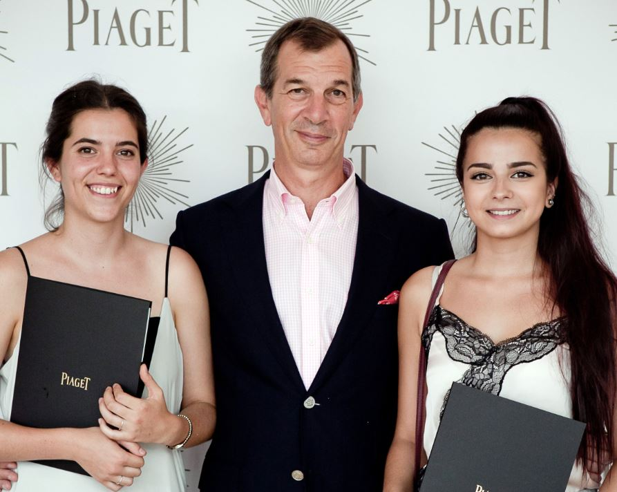 The two winners of the 2017 Prix Romand Piaget Awards