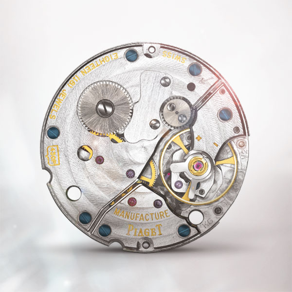 hand-wound mechanical watch movement